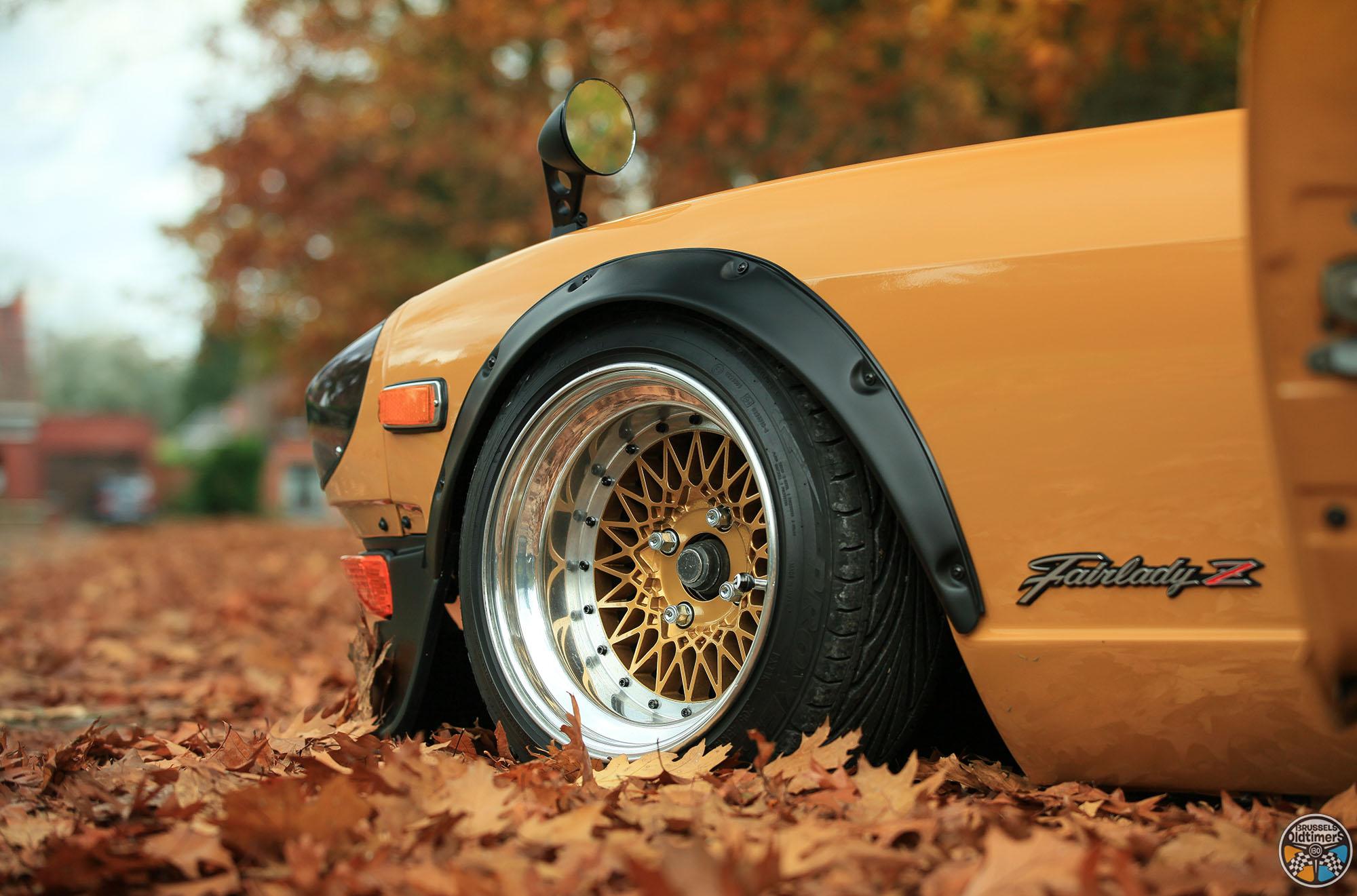 Datsun 240Z Gold