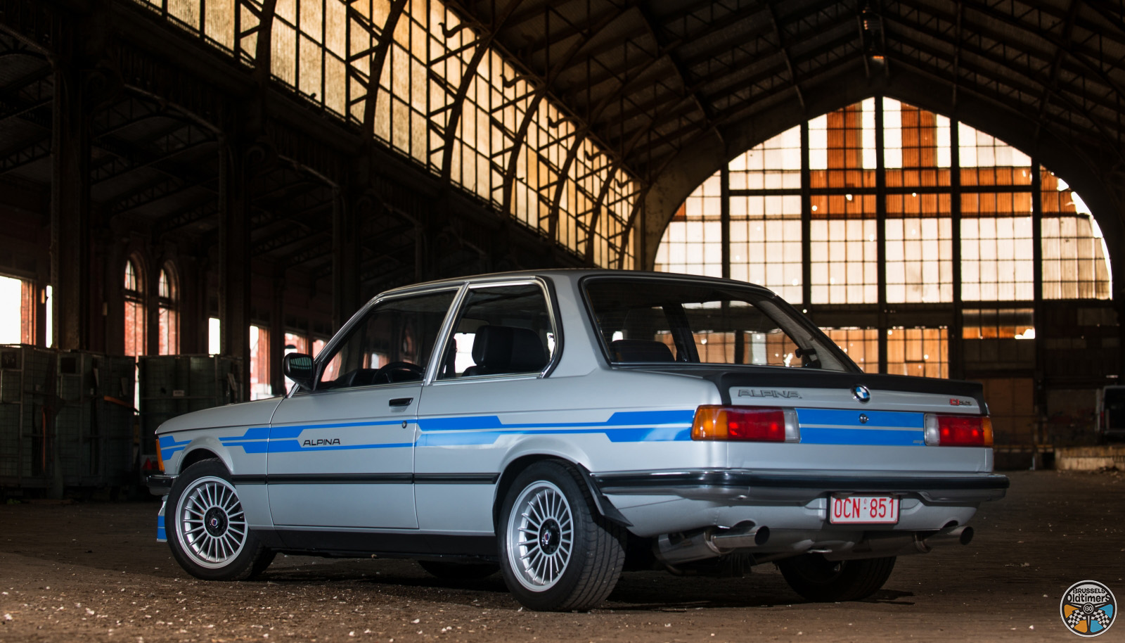 bmw e21 alpina c1 2 3   neat improvement   brussels oldtimers